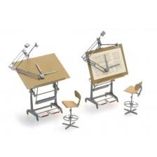 Artitec 387.474 - Set tekentafels met stoelen (2x)