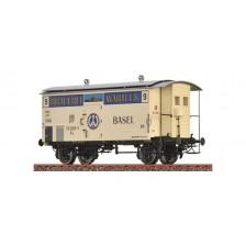 Brawa 47877 - SBB Gedeckter Güterwagen K2