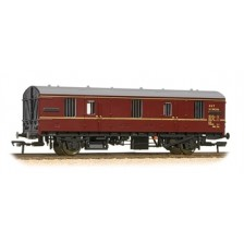 Bachmann 39-550 - Mk1 CCT covered carriage truck in BR maroon