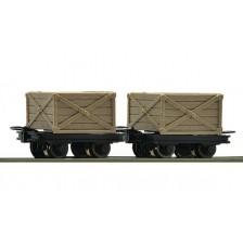 Roco 34603 - 2-teiliges Set Kastenloren