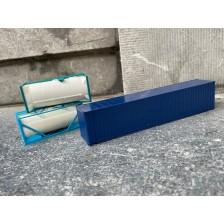 Herpa 4 - 45 ft blauw + 2x 20 ft swap