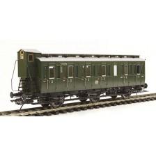 Lenz 41162-01 - DB Preußische Abteilwagen Bauart C3 mit Bremserhaus