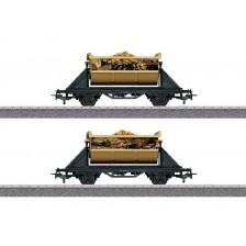 """Marklin 44822 - Piraten Güterwagen-Set """"Schatz der Wilden 13"""" """"Jim Knopf und die Wilde 13"""""""