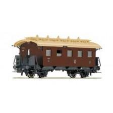 Roco 45572 - K.P.E.V. Personenwagen 3. Klasse rotbraun