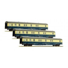 LS Models 46300 - DB Post AG 3tlg. Set Postwagen Bauart mrz