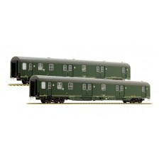 LS Models 46301 - DB Post AG 2tlg. Set Postwagen Bauart mrz