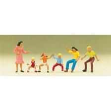Preiser 24652 - Figuren zum Karussell