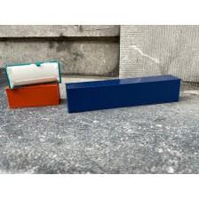 Herpa 5 - 45 ft blauw + 2x 20 ft neutraal