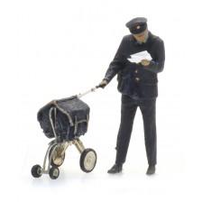 Artitec 5870004 - Postbode en karretje (1 figuur)