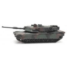 Artitec 6160076 - US M1A2 Abrams camo train load