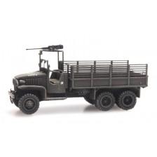 Artitec 6160079 - US GMC 353 cargo with MG