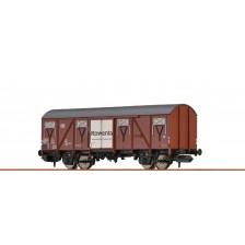 """Brawa 67818 - DB Gedeckter Güterwagen Gbs 50 """"Rowenta"""""""