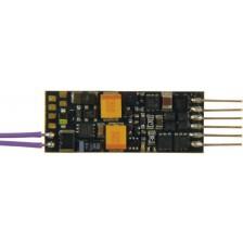 Fleischmann 687701 - Rückmeldefähiger Miniatur Sounddecoder für N/TT (NEM 651)