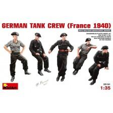 MiniArt 35191 - GERMAN TANK CREW (France 1940) 1/35