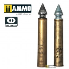 Pig Model 1-003 - 76.2mm UBR-354P HVAP-T (Real Scale Ammunition Shell Kit) 1/1