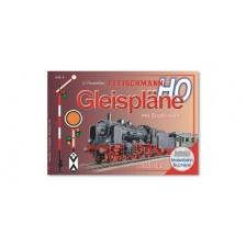 Fleischmann 81398 - Gleisplanhandbuch für FLEISCHMANN H0 PROFI-Gleise mit Schotterbett