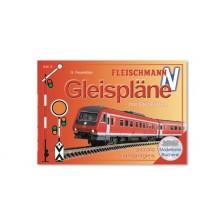 Fleischmann 81399 - Gleisplanhandbuch für FLEISCHMANN N (Schotterbettgleise)