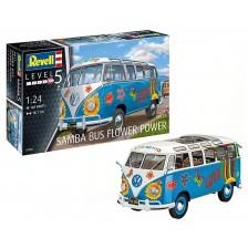 Revell 07050 - VW T1 Samba Bus Flower Power 1/24