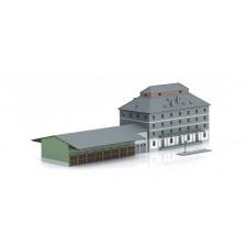 """Marklin 89705 - Bausatz """"Raiffeisen Lagerhaus mit Markt"""""""