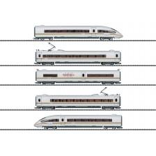 """Trix 22784 - DB-AG 5-tlg. Triebwagenzug ICE 3 Baureihe 403 """"railbow"""" (DCC Sound)"""