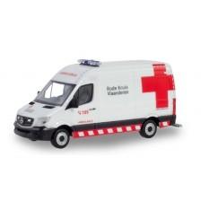 "Herpa 936989 - Mercedes Benz Sprinter Ambulance ""Rode Kruis"" (B)"