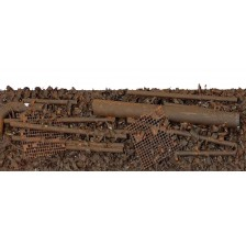 Bemo 9400994 - Ladegut Schrott mit Rohren für 9451/9455