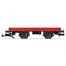 LGB 94063 - Zweiachsiger Flachwagen als Bausteinwagen