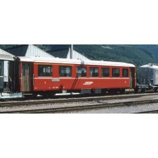 Bemo 9555125 - RhB Einheitswagen EW I B 2455 rot mit Signet