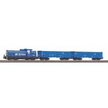 Piko 97937 - Startset PKP SM42 mit 2 offener Güterwagen PKP Cargo (DC)