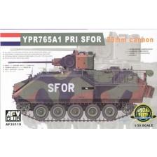 AFV Club 35119 - NL NATO YPR765A1 PRI SFOR 25mm Cannon 1/35