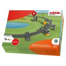 Marklin 72221 - my world - Set bouwstenen viaductspoorweg stijging en daling