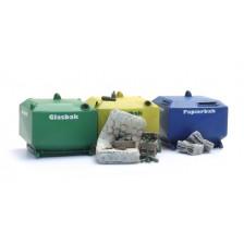 Artitec 10.391 - Glasbak en papierbak bouwpakket