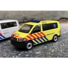 Herpa 930956 - VW T6 Nederlandse Ambulance (NL)