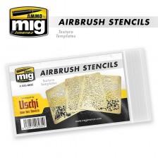 AMMO of Mig Jimenez MIG-8035 - Airbrush Stencils Uschi von der Rosten