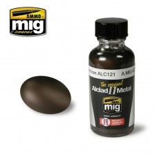 AMMO of Mig Jimenez MIG-8209 - Alclad II Burnt Iron ALC121