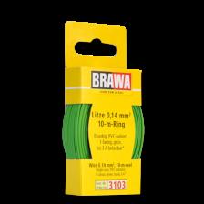 Brawa 3103 - Litze 0,14 mm², 10 m Ring, grün