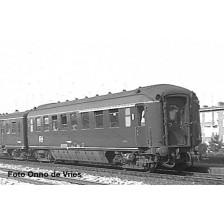 "Exact-Train EX10059 - NS AB 50 84 38-37 082-9 ""Plan K"" berlinerblau Koninklijk rijtuig IVc"
