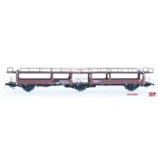 Exact-Train EX20008 - DB-ATG Autotransportwagen Blechverkleidung Laekkms 542 V