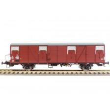 Exact-Train EX20254 - NS 2-tlg. Set Güterwagen Bauart Gbs mit Bremserbühne