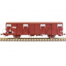 Exact-Train EX20257 - NS 2-tlg. Set Güterwagen Bauart Gbs mit Bremserbühne
