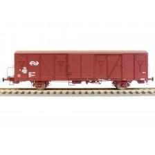Exact-Train EX20258 - NS 2-tlg. Set Güterwagen Bauart Gbs mit Bremserbühne