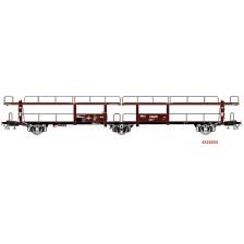"""Exact-Train EX20553 - NS Autotransportwagen Lacs """"N.V. HOLLANDSCHE STOOMBOOT MIJ Amsterdam"""" III"""