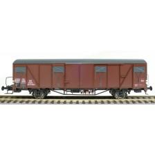 Exact-Train EX20720 - DB Güterwagen Gbs-61 Glmms Nr. 165 875 Bremserbühne mit Farbflächen Epoche III