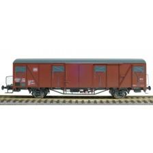 Exact-Train EX20724 - DB Gbs 254 Nr. 150 4 984 Güterwagen Bremserbühne mit DB Emblem mit Farbflächen Epoche Ivb