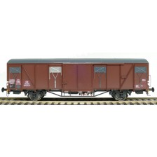 Exact-Train EX20729 - DB Güterwagen Glmmehs 61 uv mit Farbflächen Epoche III