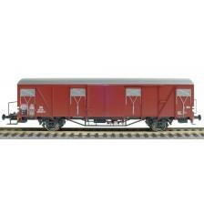 Exact-Train EX20733 - DB Güterwagen Glmmehs 61 Nr. 194 701 Bremserbühne Epoche III