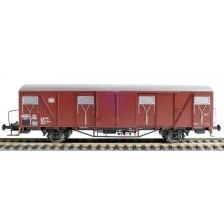Exact-Train EX20735 - DB Gbs-uv 254 Nr. 152 9 735 Güterwagen Bremserbühne mit DB Emblem Epoche Ivb