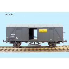 Exact-Train EX20753 - NS Bremen gedeckter Wagen Beschriftung 'Los gestort graan'