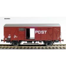 Exact-Train EX20903 - NS Gs 1410 Post mit braunen Luftklappen Epoche IV Nr. 1202 616-8