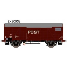 Exact-Train EX20903 - NS Gs 1410 Post mit braunen Luftklappen Epoche IV Nr. 1202 616-8